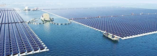 Sungrow Power floating solar farm image