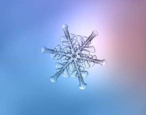 , 16 espectaculares fotos de copos de nieve tomadas con cámara DIY