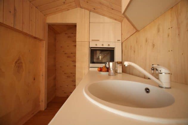 , Diseñadora crea una mini-casa móvil para viajes de vacaciones