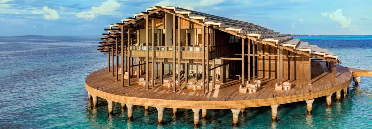 , Resort privado flotante en las Maldivas es 100% abastecido por el sol