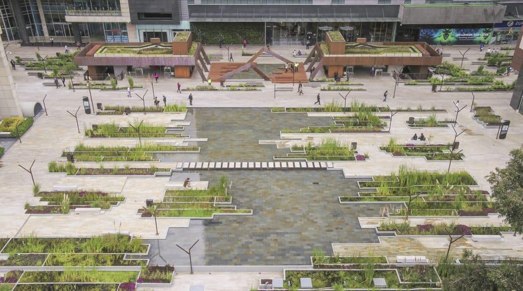 «Pantanal urbano» da vida al centro empresarial de Bogotá