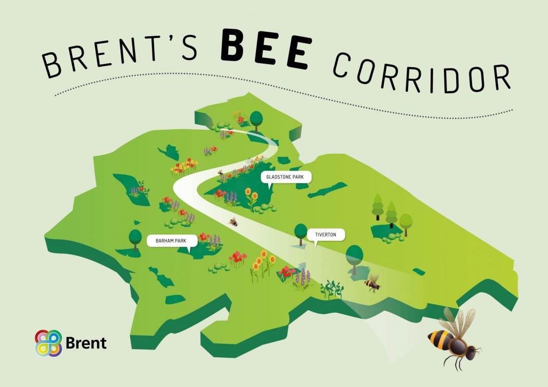 , Barrio de Londres plantará 11 km de corredores de flores para las abejas