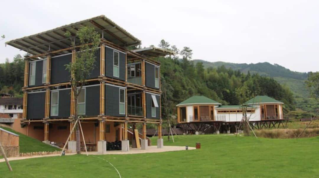 , Casa de bambú utiliza aguas subterráneas para refrigerarse naturalmente