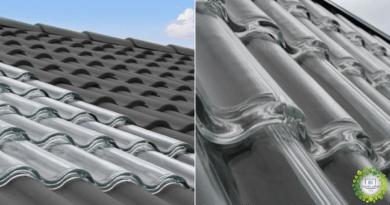 tejas solares, Tejas de vidrio que generan energía solar y calefacción gratuita en Invierno