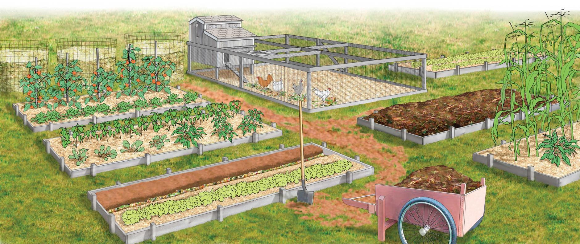 , 24 Diseños de granjas autosuficientes para encontrar inspiración