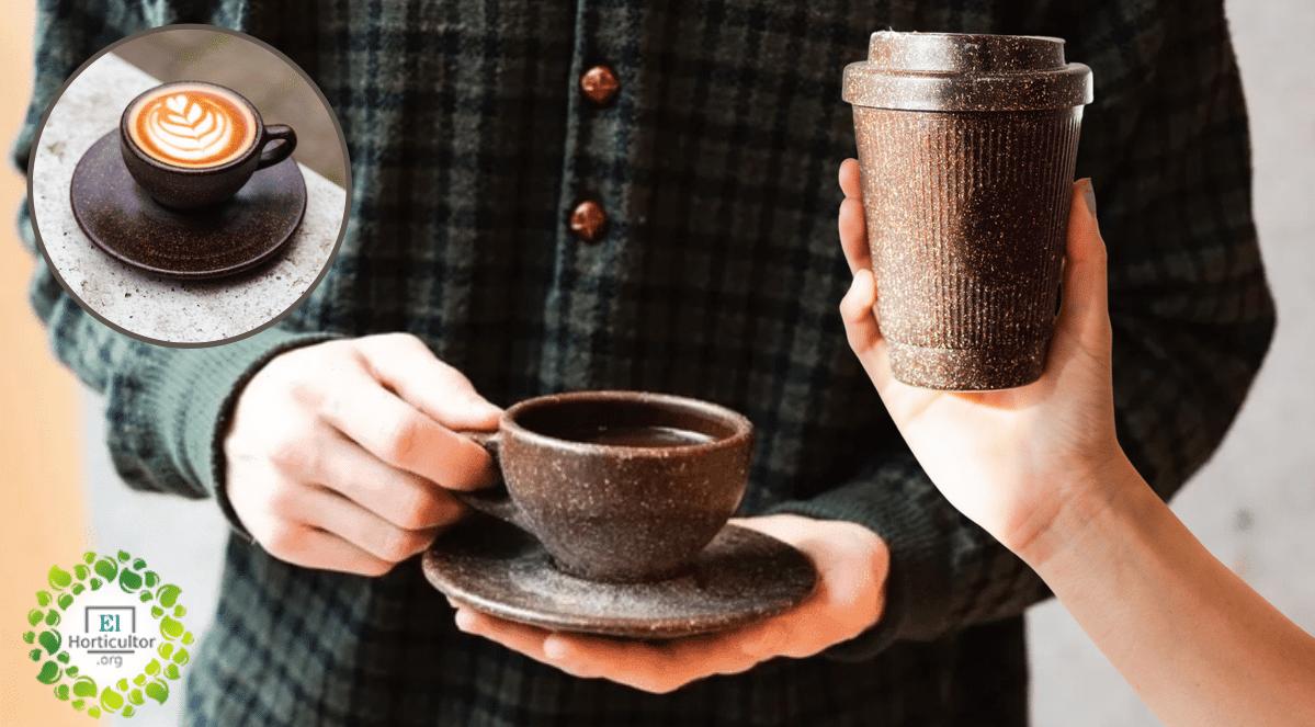 , Alemán convierte residuos de café en tazas biodegradables para reducir el uso de plástico