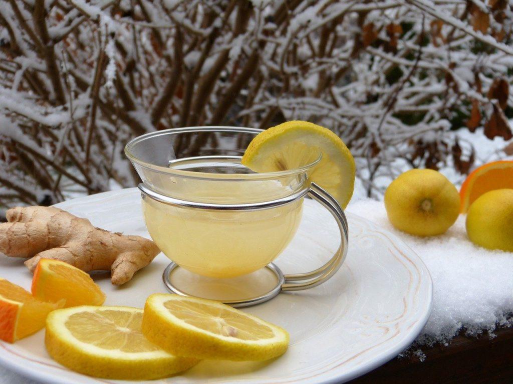 te de jengibre con limon