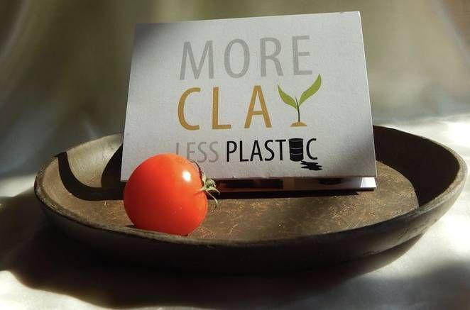 'Más Cerámica Menos Plástico': la revolución de volver a materiales naturales