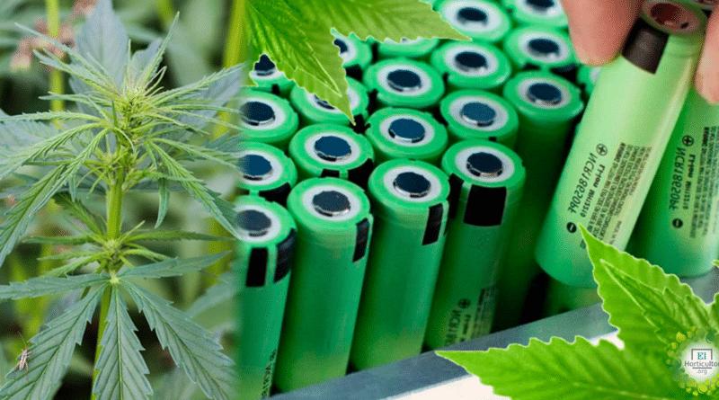 , Las baterías de cáñamo son ocho veces más potentes que las de litio