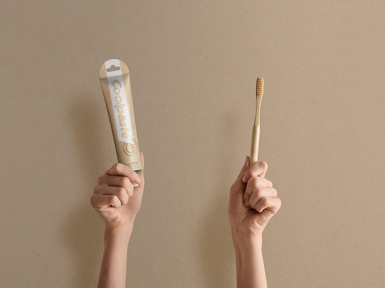 Coolpaste, el tubo de pasta dantal biodegradable y sin caja