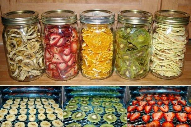 Cómo preparar exquisita y saludable fruta deshidratada en casa