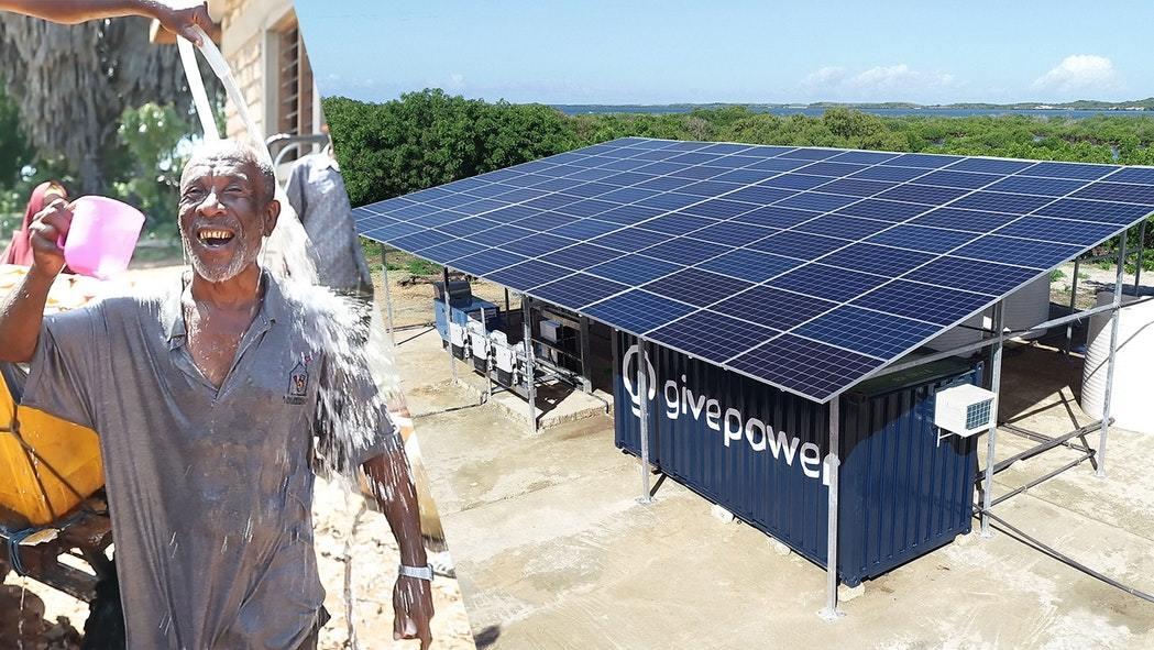 , Planta solar convierte agua de mar en agua potable en Kenia