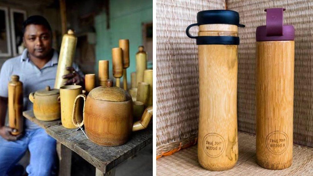 Botellas de bambú gratis para todos los turistas para luchar contra el plástico: La iniciativa de Lachen en la India