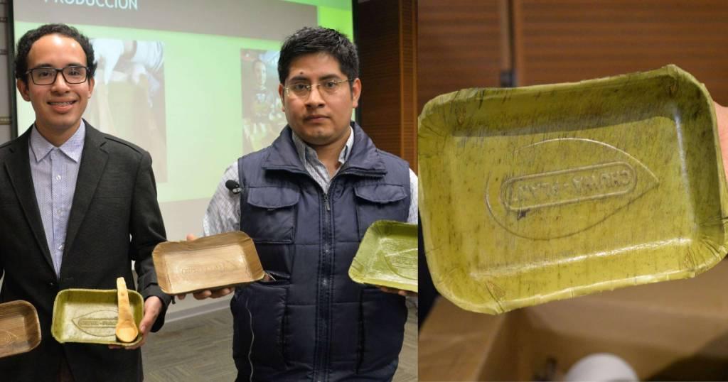 Perú: crean platos con hojas de plátano, se degradan en sólo 60 días