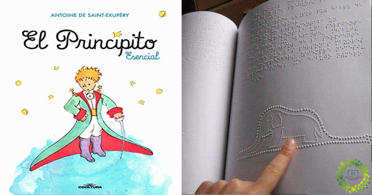, Inspirador: El primer libro escrito en braille del Principito