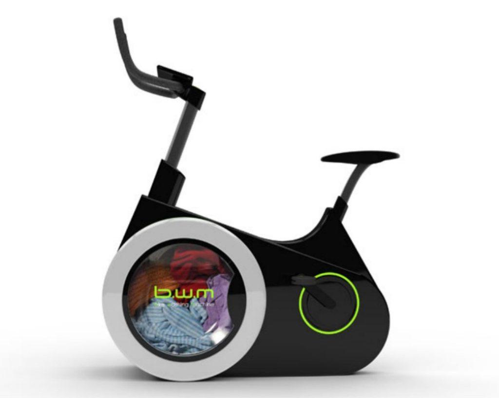 , Bici Lavadora, lavá tu ropa mientras haces ejercicio