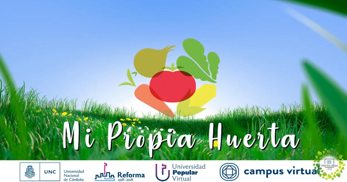 , Curso Online y Gratuito: Mi propia Huerta, empezá hoy!