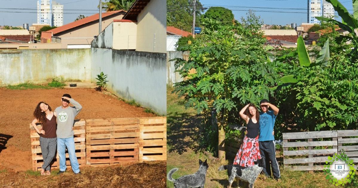 , Produzca 50 kg de alimentos orgánicos por mes en su patio trasero