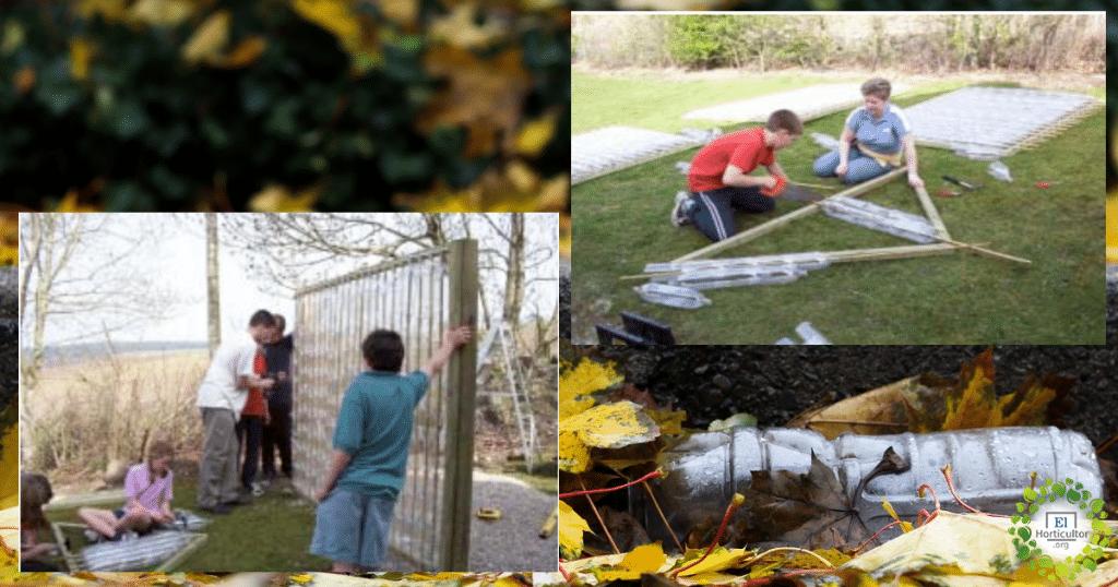 , Cómo construir tu propio invernadero con botellas de plástico recicladas