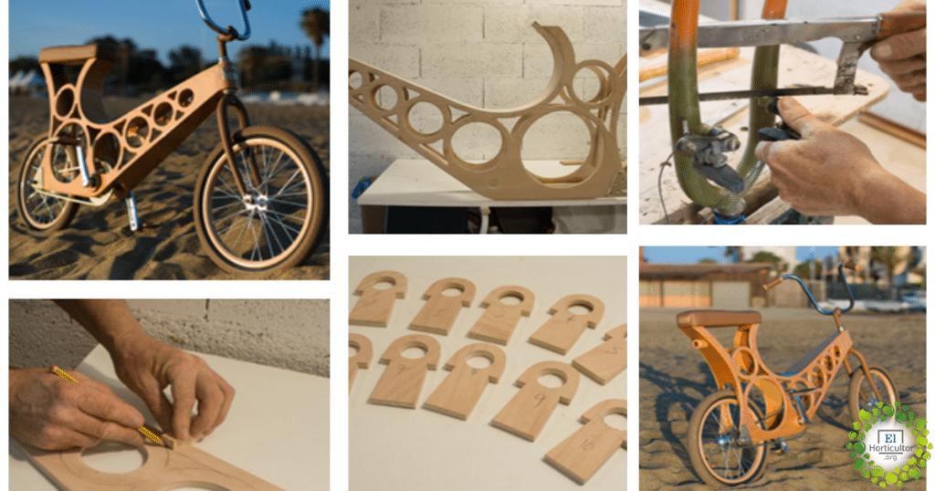 , Hoopy, La Bicicleta de Madera que te enamorará a primera vista