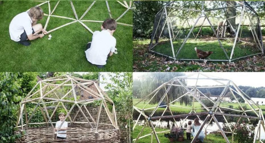, Cómo Construir un Domo Geodésico