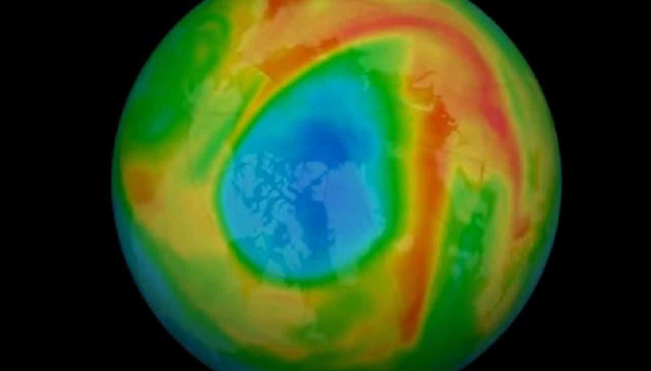 Se cierra el agujero más grande detectado en la capa de ozono sobre el Ártico (y no tiene nada que ver con el coronavirus)