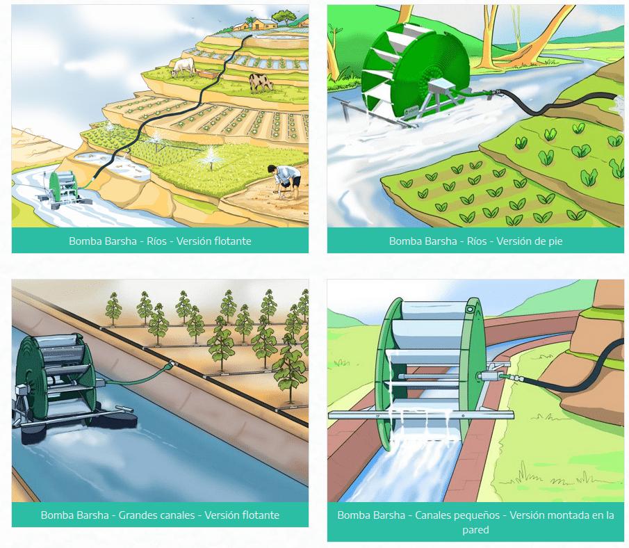 'Bomba Barsha', tecnología revolucionaria para la irrigación de los campos