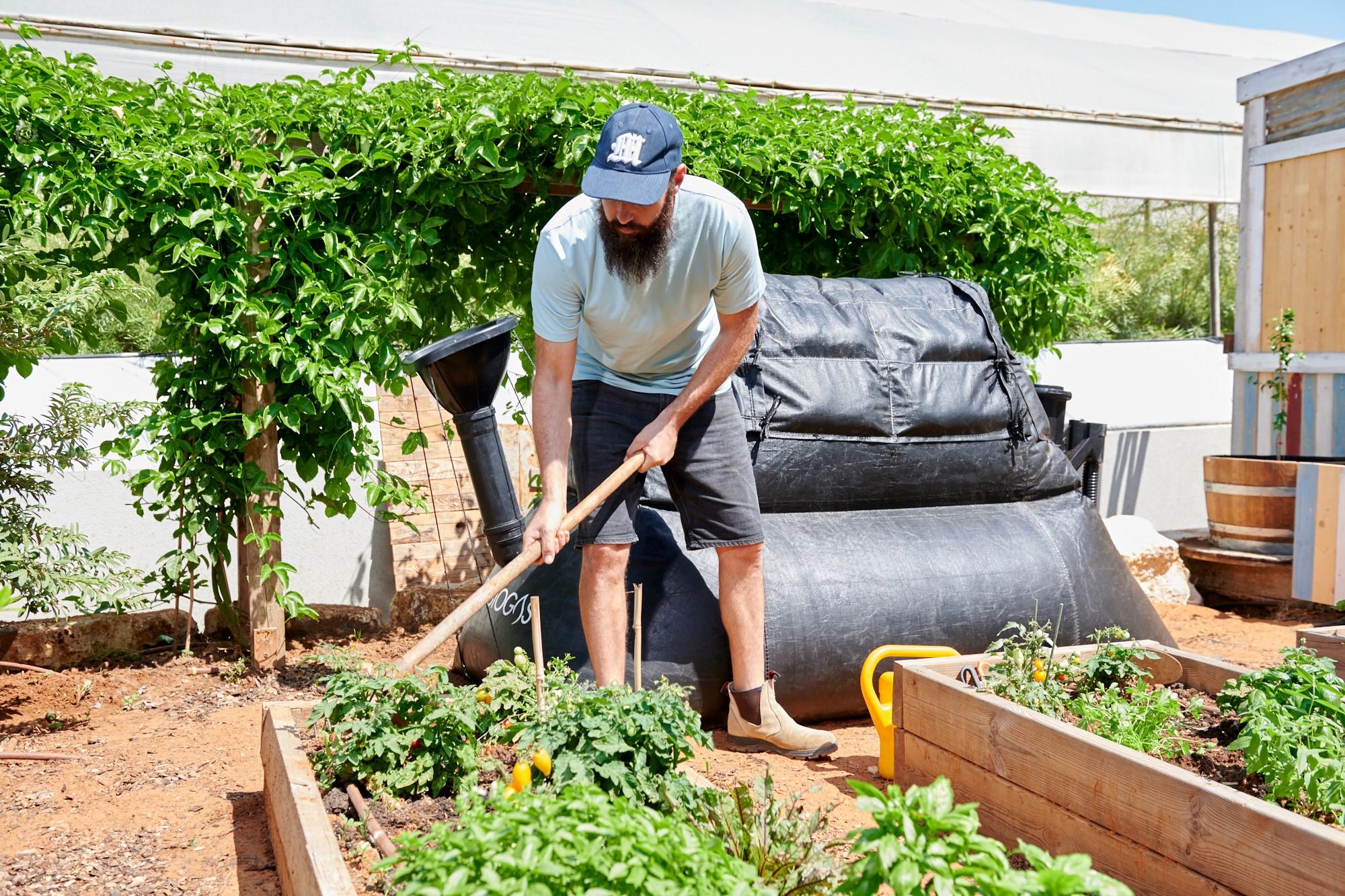 , Transforma los desechos de comida en gas para cocinar y fertilizantes