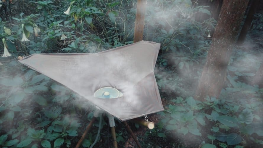 AQUAIR, el cosechador de niebla portátil que produce agua potable del aire