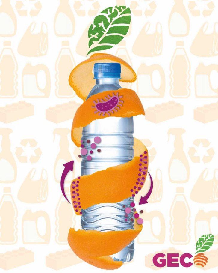 Estudiante mexicana crea plástico biodegradable con cáscaras de naranja
