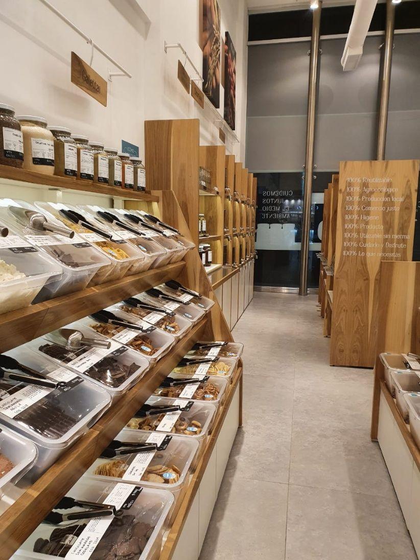 , Abre el primer supermercado libre de envases de la Argentina