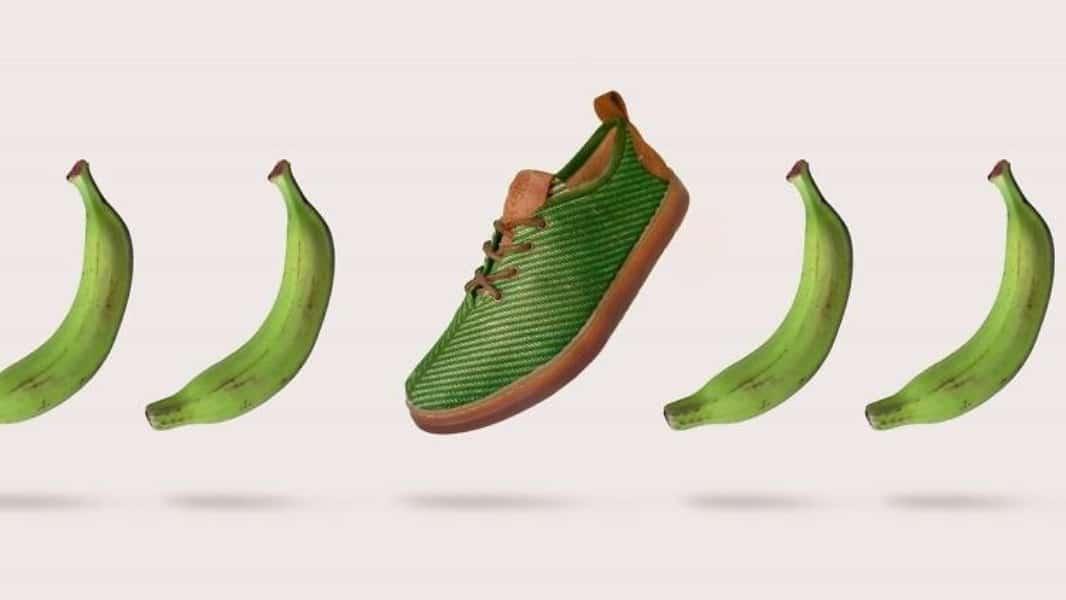 , Españoles crean calzado Biodegradable hechos con fibra de plátano