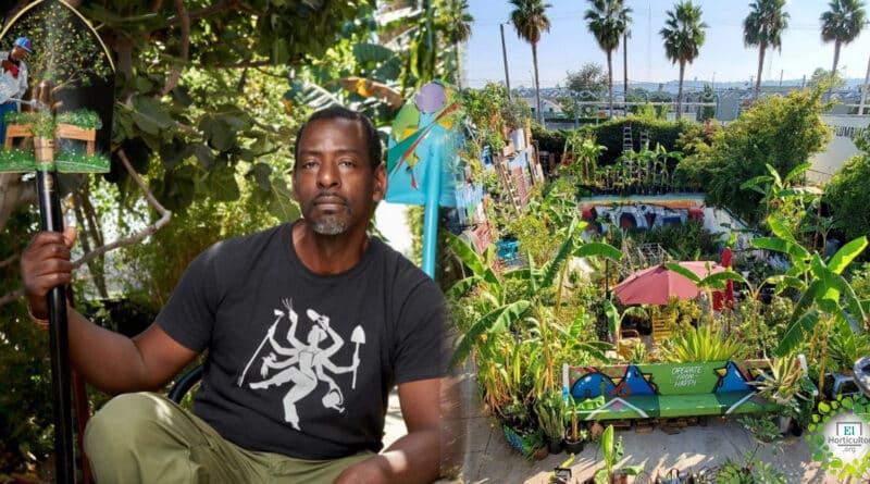 , El Jardinero «Gangster», uno de los agricultores urbanos más conocidos del mundo