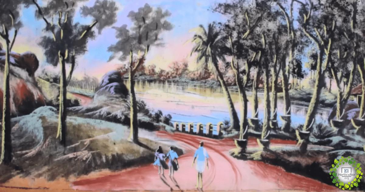 , Un hombre sin hogar pinta increíbles murales usando solo pigmentos naturales