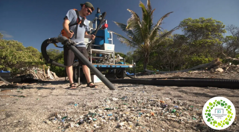 , Estudiantes crean una máquina que separa los micro-plásticos de la Arena