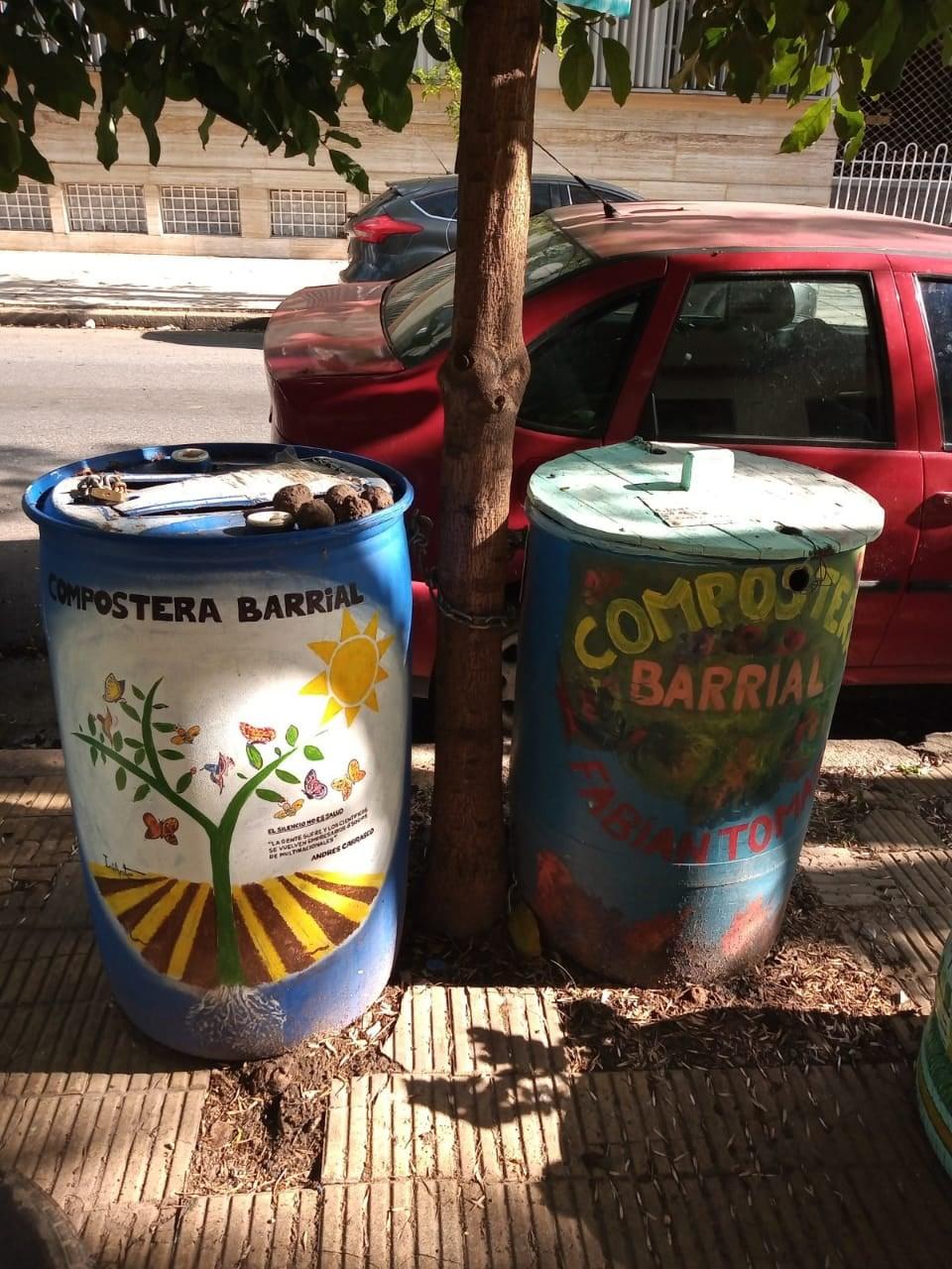 , Vecinos compostan sus restos orgánicos de forma Comunitaria