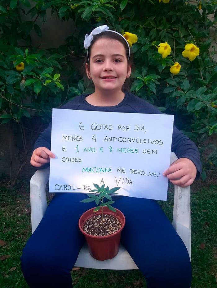 , El cannabis medicinal elimina la crisis de epilepsia grave en una niña de 10 años
