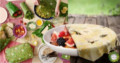 , Alternativa al Film Plástico: Cómo hacer Eco Envoltorios para alimentos