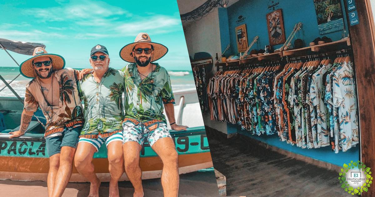 , Bohío-playa, una marca que crea ropa con plástico sacado del mar