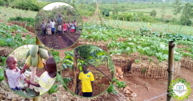 , Joseph enseña Agricultura sostenible en África para que a nadie le falte su plato de comida