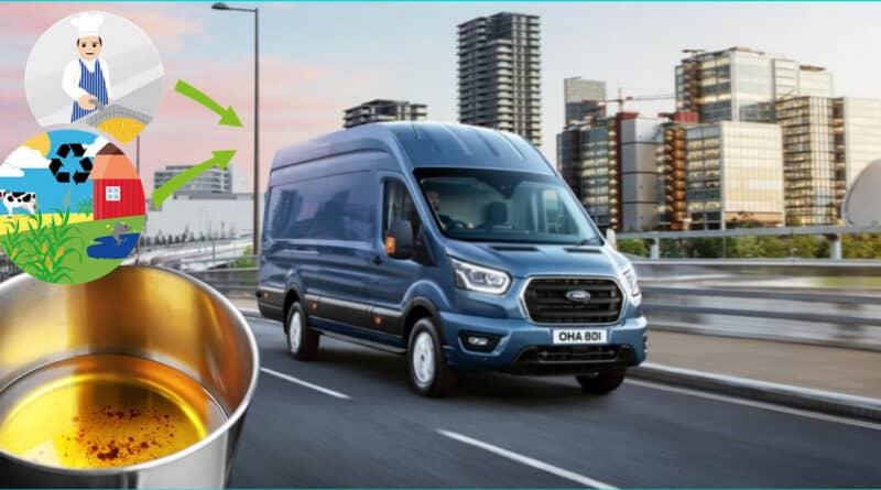 , Ford lanza su primer camioneta que funciona con aceite de cocina reciclado