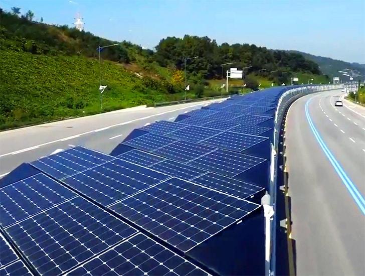 , Conoce el Bici-carril Solar ubicado en medio de una autopista de Corea del Sur
