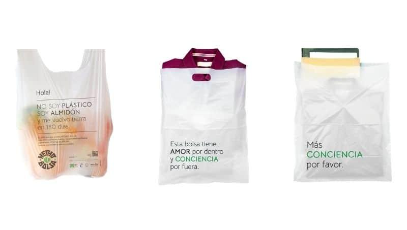 , Lanzan bolsas hechas de almidón que se degradan en 180 días