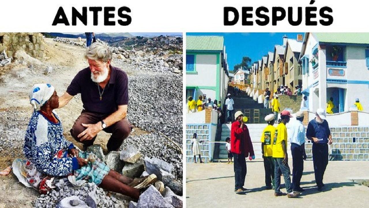 , Sacerdote Argentino convirtió Basural en un pueblo y es nominado al Premio Nobel de la Paz
