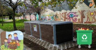 , Ciudad de Portugal instala composteras comunitarias en sus calles
