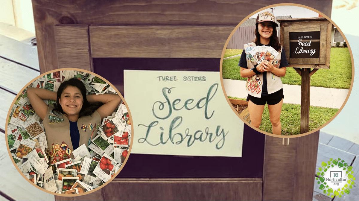 , Adolescente creó 108 bibliotecas de semillas en los Estados Unidos