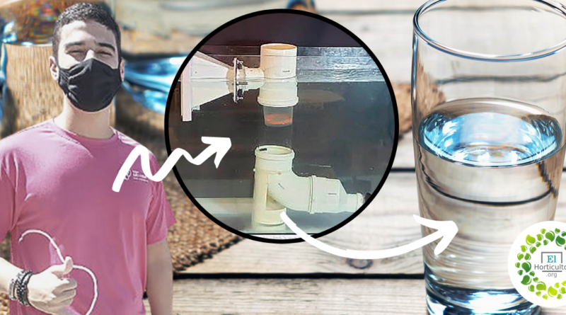 , Estudiante Brasileño crea un sistema de bajo costo que filtra los micro-plásticos del agua