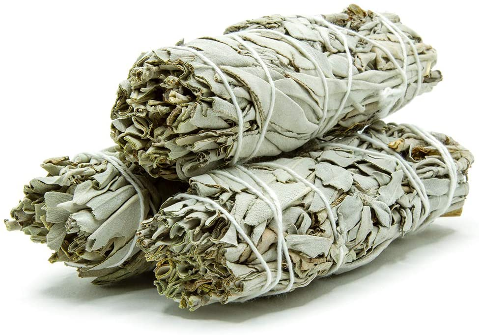Cómo preparar incienso o sahumo con hierbas salvia